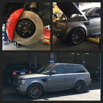range rover brake upgrade glendale