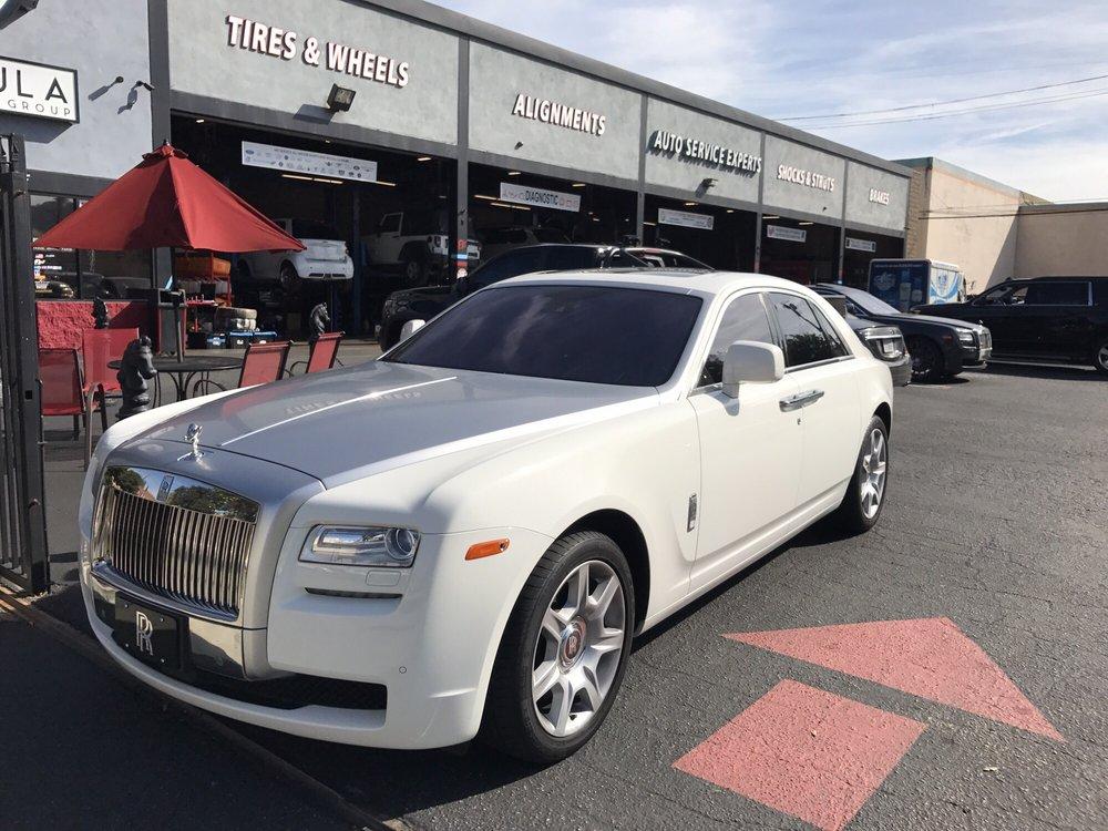 luxury car service burbank